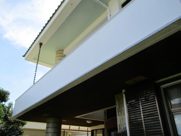 外壁改修工事(タイルはつり、左官、塗装工事)沖縄県西原町