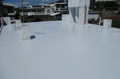K様邸 屋上遮熱塗装工事 in 沖縄県西原町