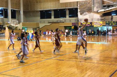 ミニバスケットボールの試合観戦に行ってまいりました。(沖縄県西原町民体育館)