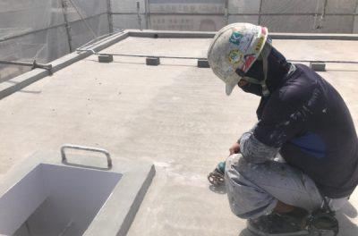 屋上遮熱防水工事で建物をしっかり保護しました!(K様邸、沖縄県西原町)