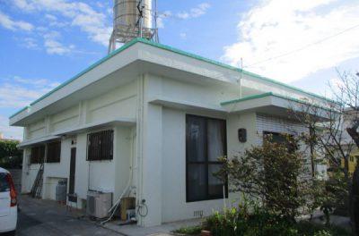 『緑をベースに木漏れ日溢れる家』外壁補修・塗装・防水工事