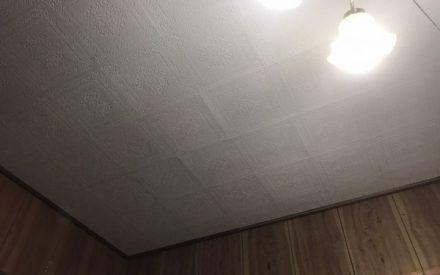 天井塗装工事(沖縄県西原町)