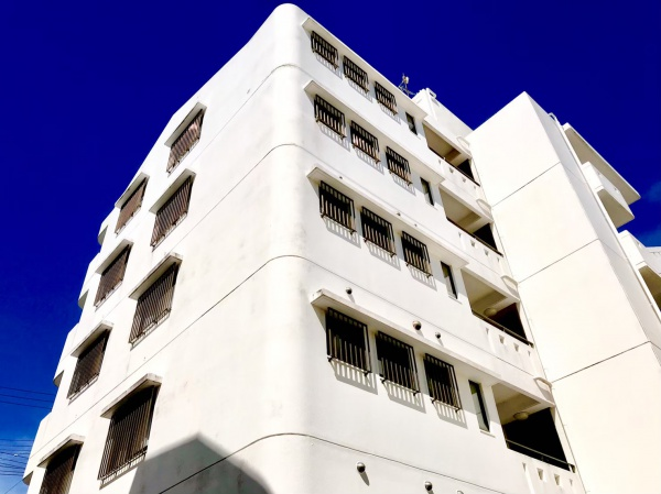 アパート外壁防水工事(沖縄県西原町)