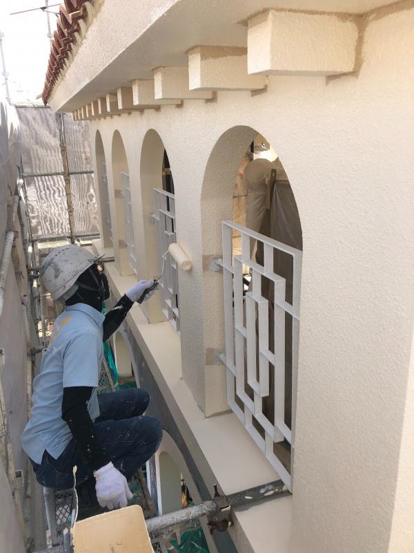 外壁塗装で大切な家をちゅらかーぎーに♬(沖縄県那覇市)