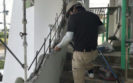 なぜ?コンクリート外壁改修工事を行うのか?沖縄県南城市佐敷教会②