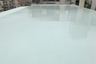 屋上遮熱防水塗り替え工事