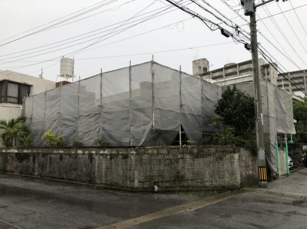 防水塗り替え塗装工事(西原町にて)