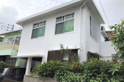 外壁塗装・屋上防水工事(那覇市首里)