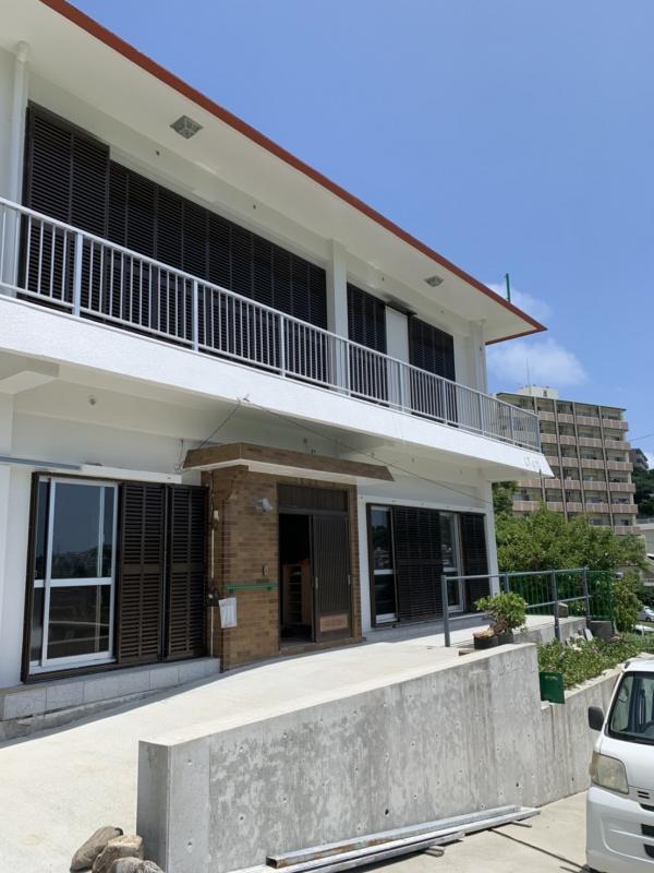 外壁塗装・屋上防水工事(西原町にて)