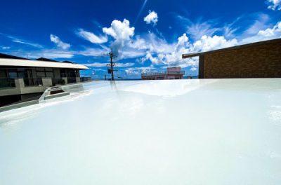 屋根防水工事(西原町にて)