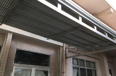 トタン張替え、鉄骨塗装(浦添市)