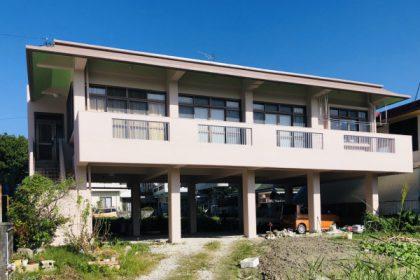 外壁塗装・屋上防水工事(沖縄県西原町にて)