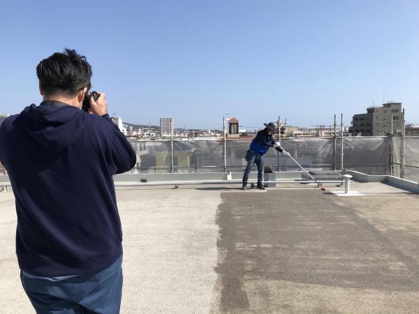 ホームページ写真の撮影会 (*´▽`*)