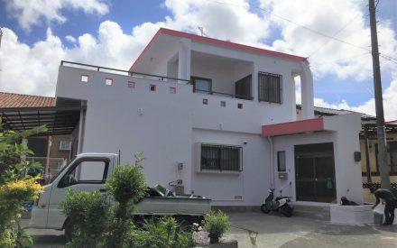 外壁塗装・タイル工事(沖縄県与那原町)
