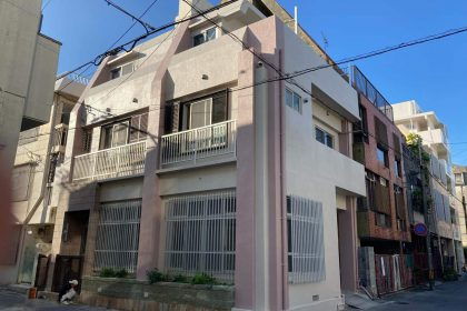 アパート外壁塗装・防水工事(沖縄県那覇市)