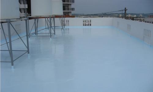 屋上遮熱防水工事