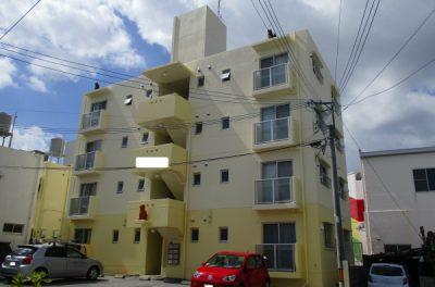 アパートのペンキ塗り替えリフォーム(外壁塗装、屋上遮熱防水、補修工事)