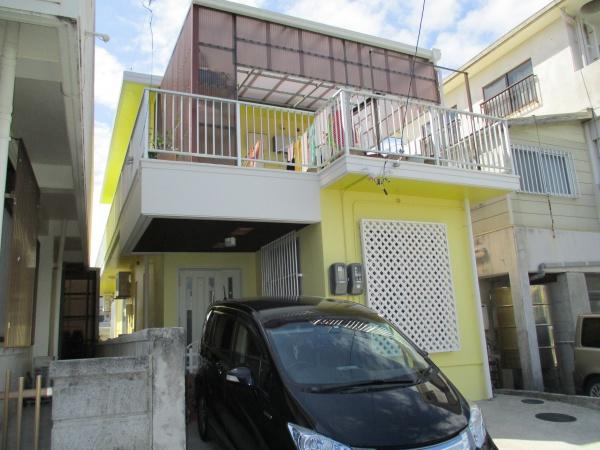 沖縄県西原町、ペンキ塗り替えリフォーム(外壁塗装、遮熱防水、補修工事)