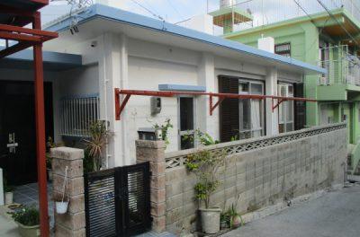 『 白色と水色で美しく 』 A様邸 外壁補修・外壁塗装・屋上防水工事(沖縄県西原町)