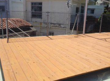 ウッドデッキ、木フェンス、木塗装塗り替え工事