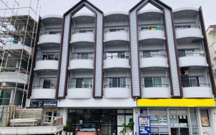 アパート外壁補修、外壁塗装(沖縄県中城村)