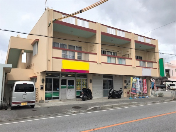 アパート外壁塗装・防水工事(西原町)