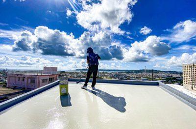 屋上防水工事の流れ