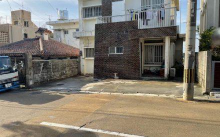 外構工事 駐車場ブロック、テラス解体(沖縄県那覇市)