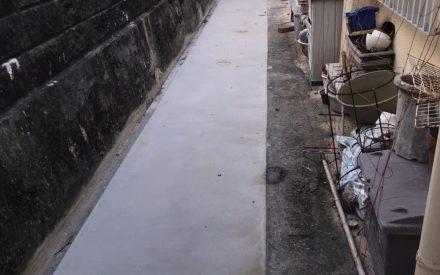 外構工事・土間コンクリート仕上(沖縄県西原町)